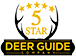 5 Star Deer Guide Company Logo